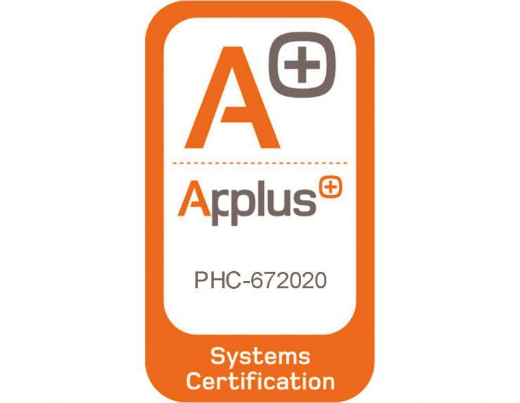 Certificado LGAI Technological Center, S.A. (Applus+)